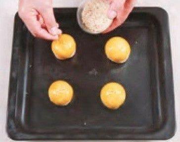 Sweetened Bean Paste Egg Yolk Pastry Recipe step10