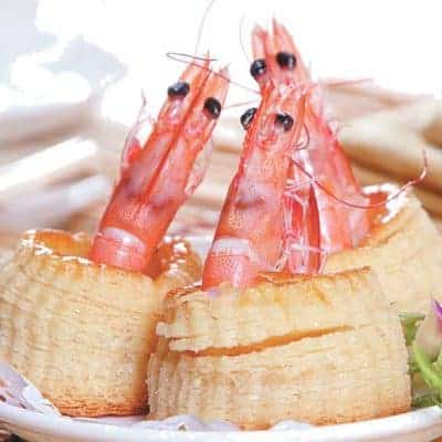 Chinese Shrimp Pastry Recipe