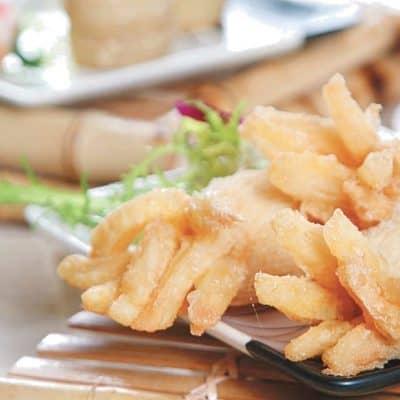 Fried Crispy Pastry Recipe