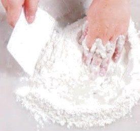 Lotus Paste Hand Shape Pastry Recipe step4