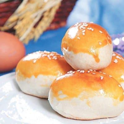 Preserved Egg Pastry Recipe