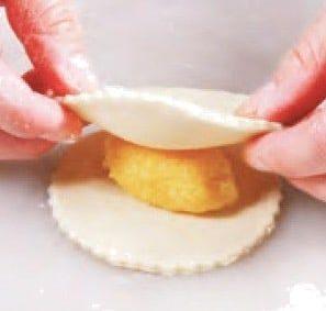 Roasted Coconut Paste Crispy Pancake Recipe step13