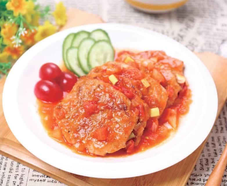 Tomato Juice Pork Chop