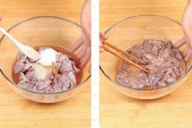Chinese Fried Pork Liver step3