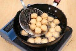 Litchi Chicken Meat Ball step3
