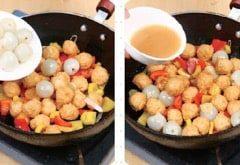 Litchi Chicken Meat Ball step5