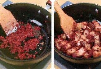 Shrimp Flavour Braised Streaky Pork step5