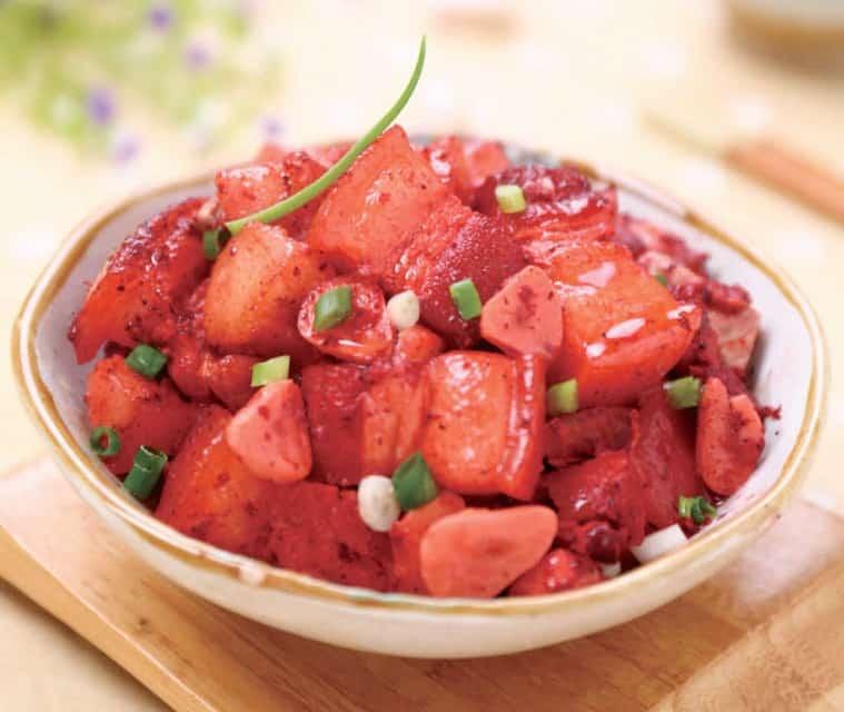 Shrimp Flavour Braised Streaky Pork