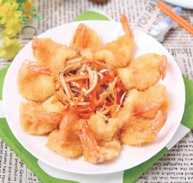 Easy Fried Shrimp Recipe- Ji Li Shrimp